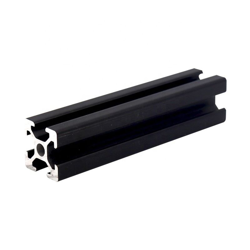 Black Anodizing 6063 T5 2020 Series Aluminum Profile