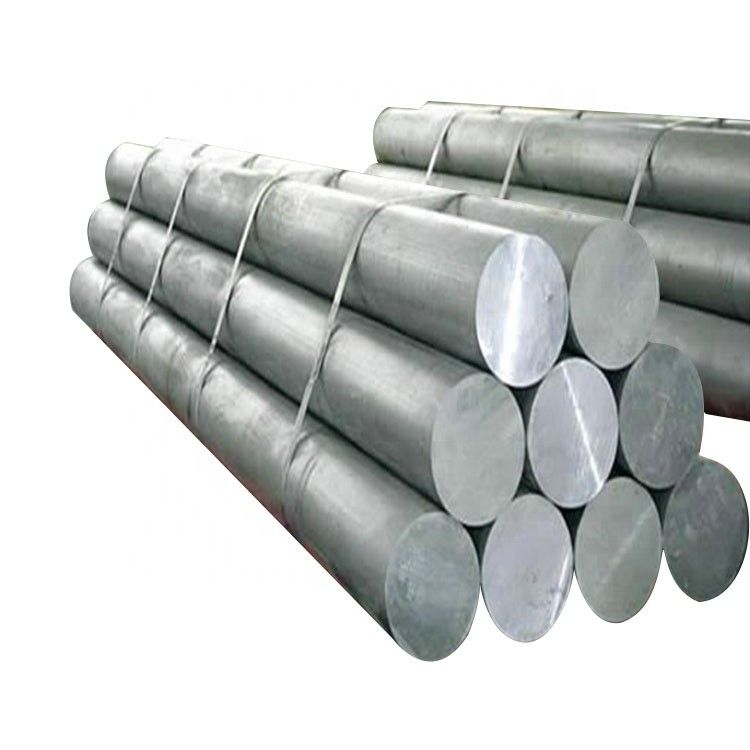 Mill Finish Silver ISO14001 6063 T6 Aluminum Alloy Bar